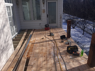 porch remodel